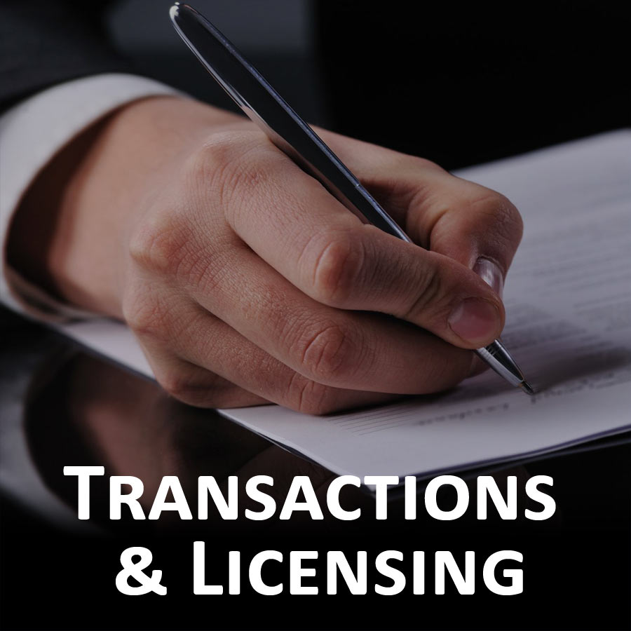 Transactions & Licensing